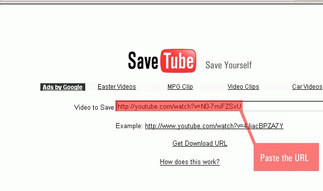 how to save video from youtube