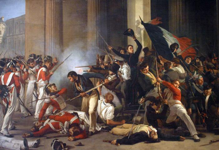 an analysis of the french revolution which began on 1789 The french revolution took place from 1789 french revolution painting analysis and fraternity are the main ideals that the french revolutionists wanted to.