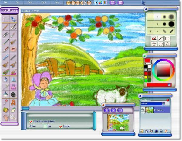 программа для рисования для детей