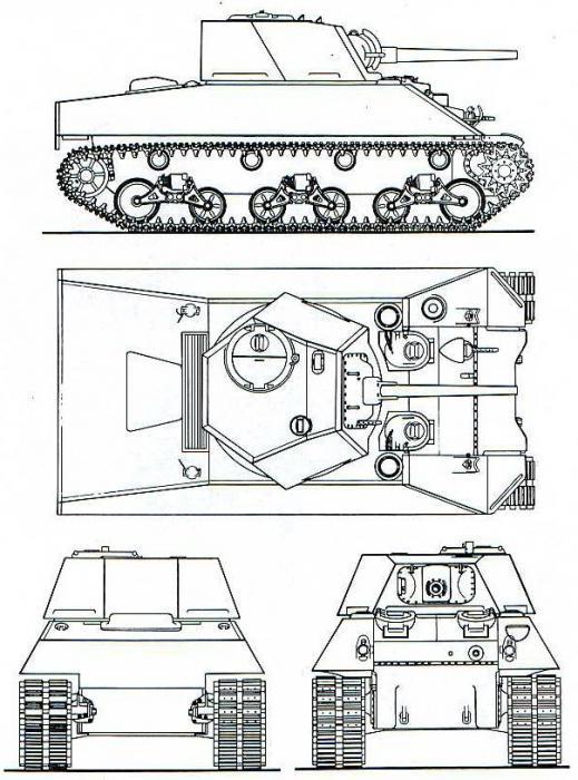 Sherman tank modifications