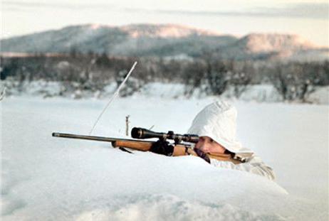 Охота на глухаря зимой с подходу