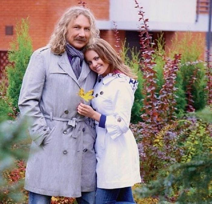 игорь крутой и его первая жена фото