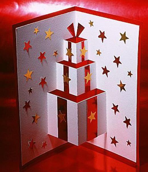 английские рождественские открытки своими руками