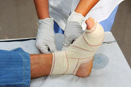 treatment of diabetic feet