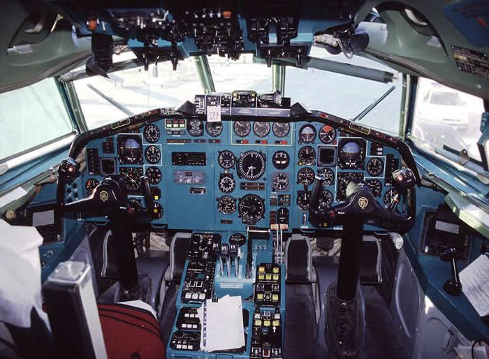 Самолет ТУ-154: технически