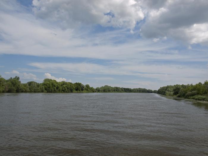 глубина москвы реки
