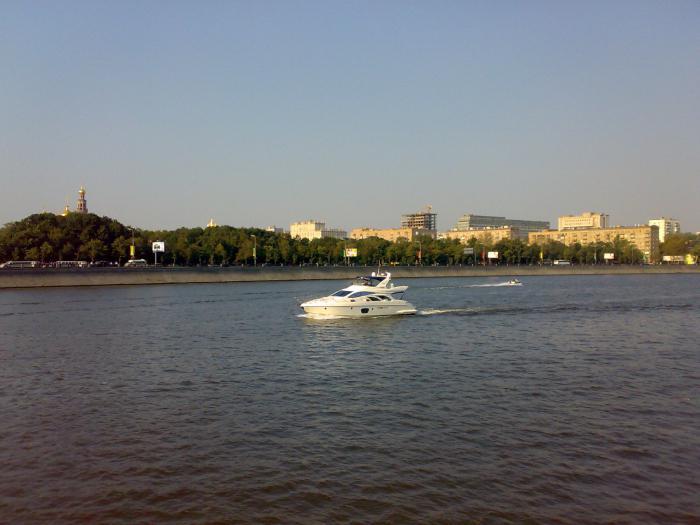 притоки москвы реки