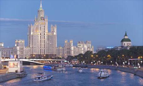 правый приток реки москвы