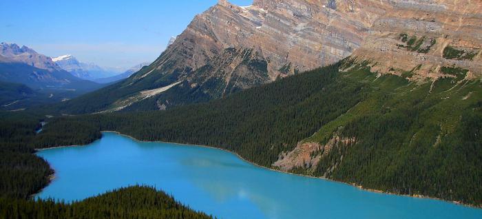 North America natural areas