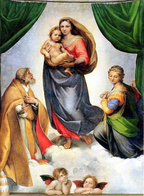 Rafael Santi Sistine Madonna