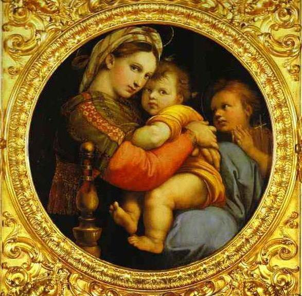 Sistine Madonna painting
