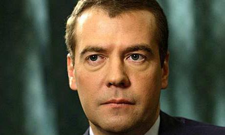 Dmitry Medvedev family biography