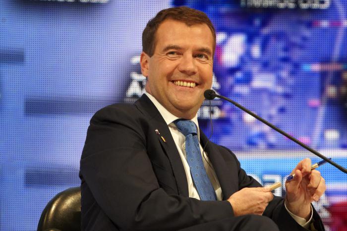 Medvedev Dmitry Anatolyevich biography