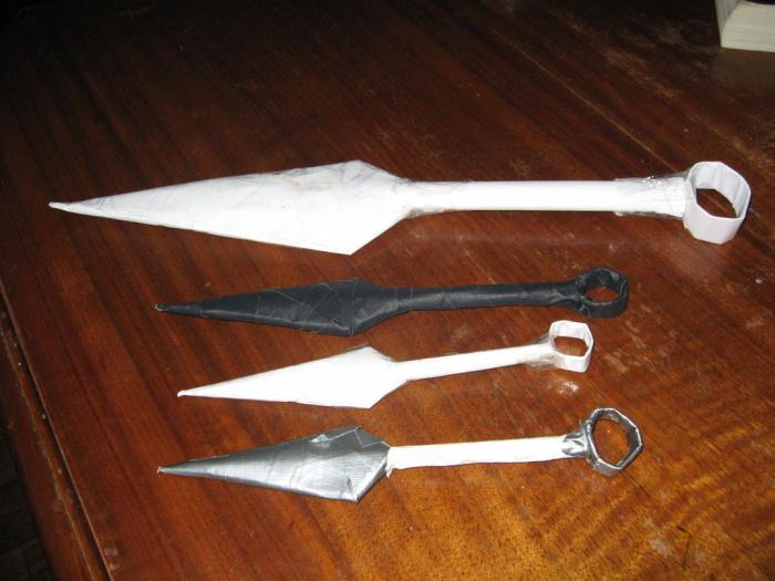 как сделать меч из бумаги пошаговая инструкция - фото 6