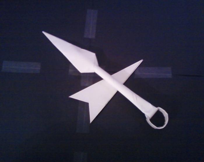 Как сделать из бумаги оружие своими руками? :: SYL.ru