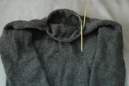 вязание реглана от горловины спицами
