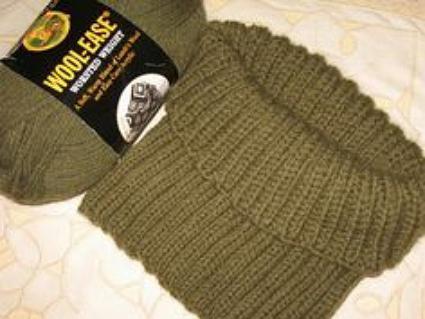 вязание горловины свитера спицами