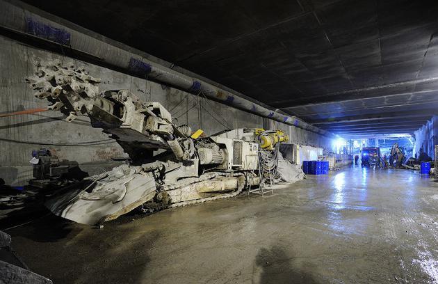 Алабяно балтийский тоннель схема