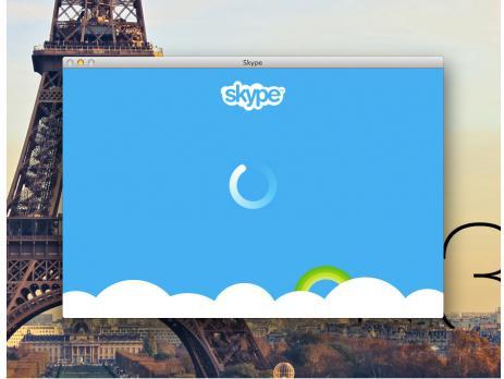 войти в скайп