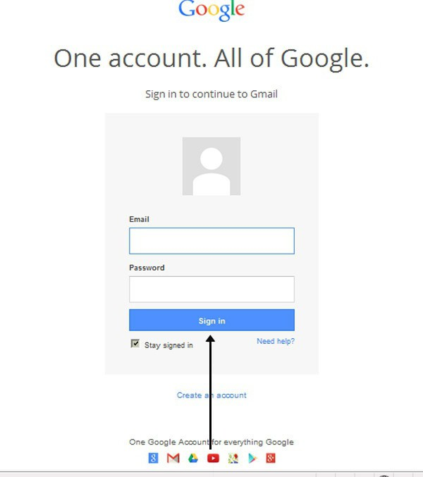 how to create a new account