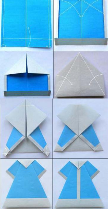 Красивые, открытки дед мороз оригами