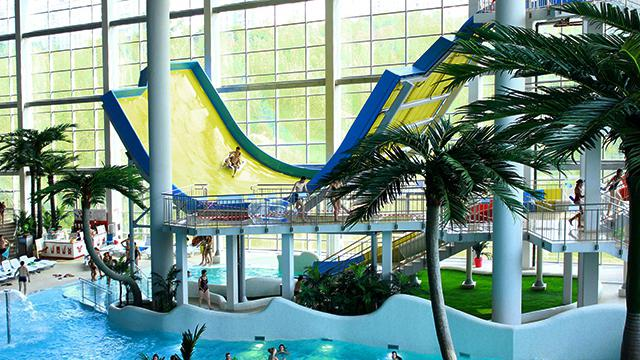 water park in ash
