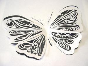paper butterfly with your own hands