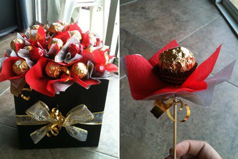 букеты из конфет мастер класс