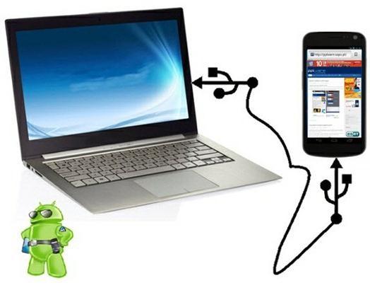 как синхронизировать андроид с компьютером через usb