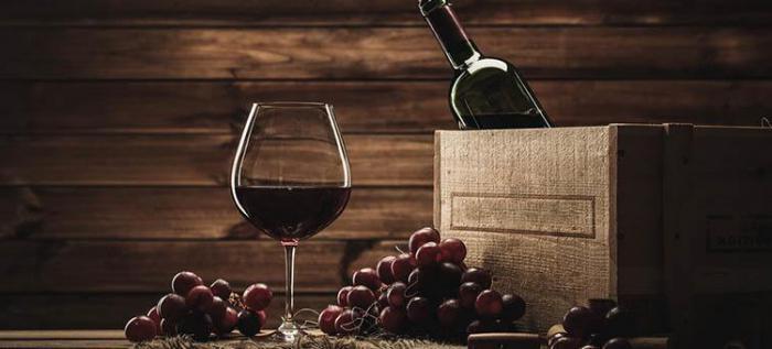 вина столовые красные