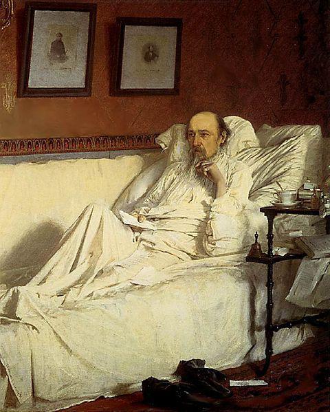 Nikolay Alekseevich Nekrasov short biography