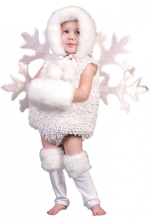 костюм новогодний снежинки
