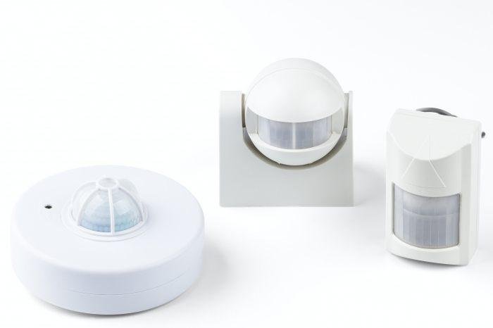 Motion sensor to turn on the light