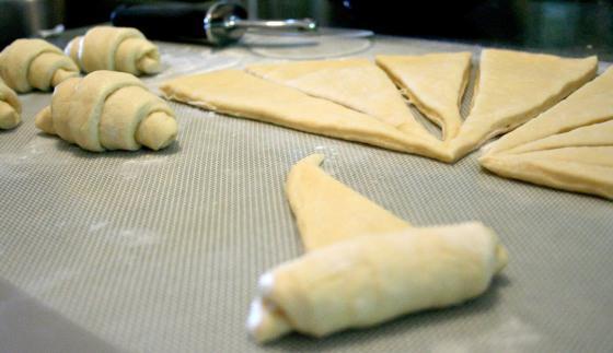 Рецепт рогаликов песочных в домашних условиях пошагово