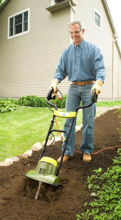 electric cultivator for gardening