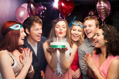 Конкурсы на день рождения для взрослых в кафе