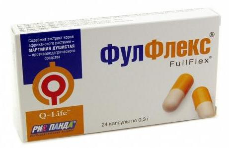 Fulflex capsules instructions for use