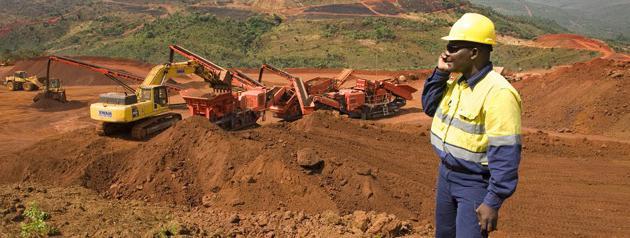 полезные ископаемые Африки кратко
