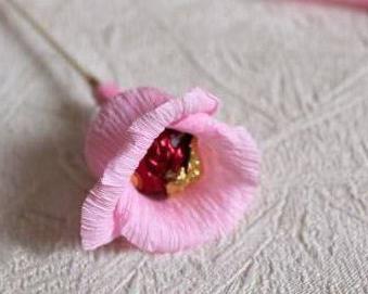 Конфеты в цветах розах своими руками из бумаги фото 441