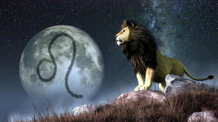 характеристика знака лев женщина