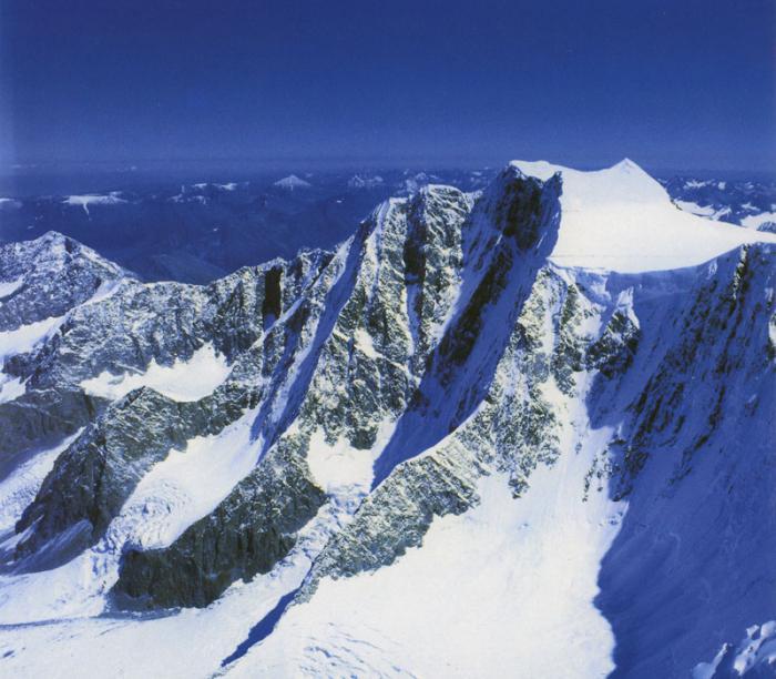 Гора белуха где она находится