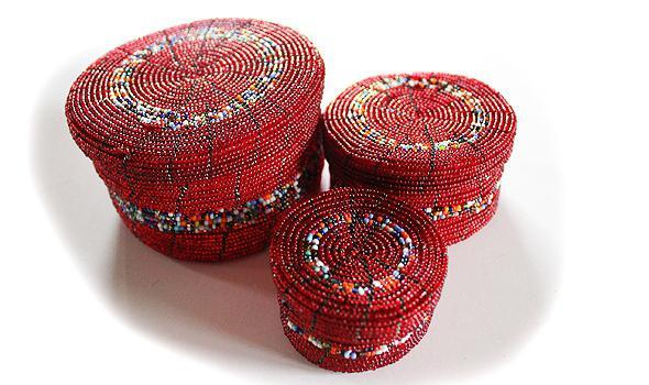 Beadwork Jewelry Boxes
