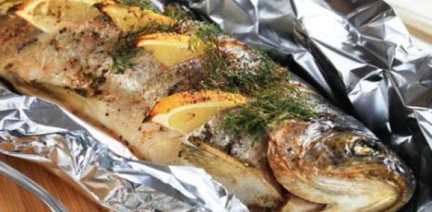 Белорыбица запеченная в духовке рецепт с фото