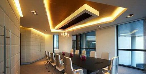 design of gypsum ceilings hall