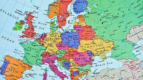 Европа это какие страны