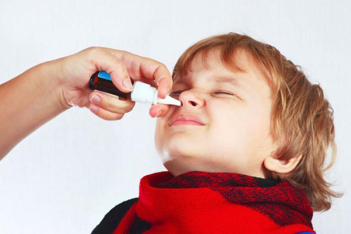 Блокада в нос от насморка