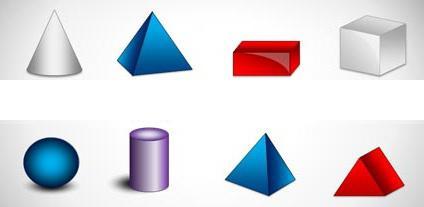 Картинки для аппликаций с геометрическими фигурами 2