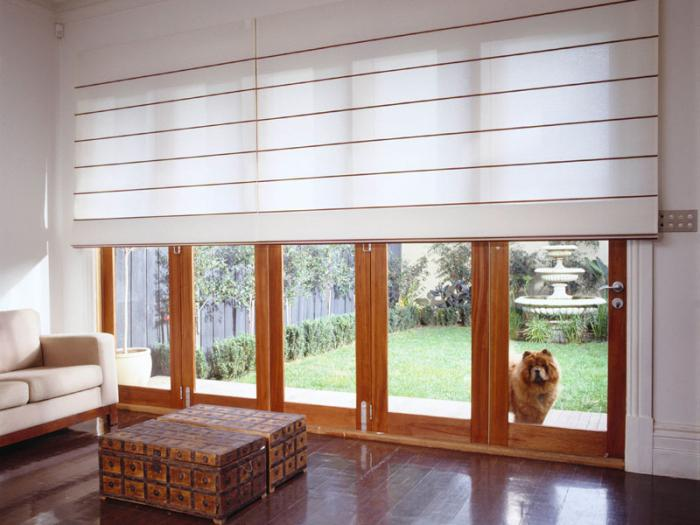 пластиковые рулонные шторы