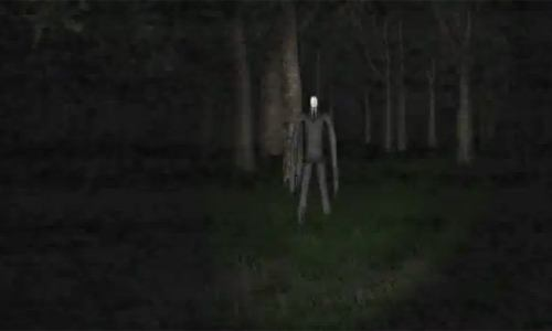 the birth of a slenderman