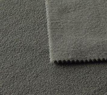 fabric footer with fleece